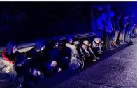 Над 20 нелегални мигранти са задържани тази нощ от полицията в Казанлък