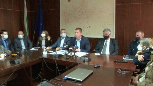 Пресконференция на кмета Живко Тодоров и зам.-кметовете на Община Стара Загора