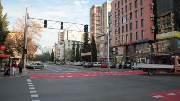 По препоръка на експерти по пътна безопасност е премахнат мигащият зелен сигнал на светофарните уредби в Стара Загора